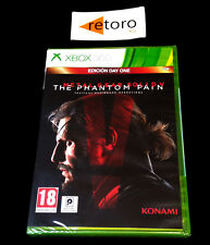 METAL GEAR SOLID V 5 THE PHANTOM PAIN Xbox 360 PAL-España NEW Nuevo xbox360