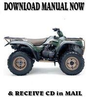 2002 2003 Kawasaki 360 Kvf360 Prairie Factory Repair Service Manual Kvf 360 Cd Ebay