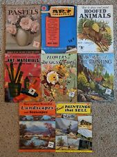 Vintage Walter Foster How to Paint & Draw Instruction Books Lot of 8