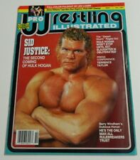 Pro Wrestling Illustrated Magazine October 1991 Sid Vicous