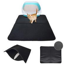 Cat Litter Mat Waterproof Double-Layer Trapper Foldable Pad Pet Rug Home Faddish