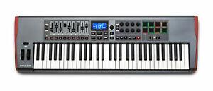 Novation Impulse 61 USB-MIDI-Keyboard Controller 61 Tasten Ableton Live Studio