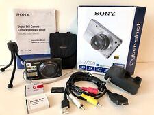 "Sony Cyber-shot DSC-W290 Camera Bundle~12.1 Megapixels~3"" Screen~5x Optical Zoom"