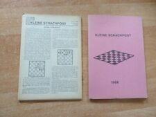 Kleine Schachpost der Justizvollzugsanstalt Straubing 5. Jahrgang 1968