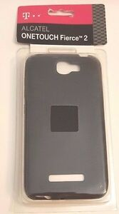 T-Mobile Alcatel Onetouch Fierce 2 Protective Cover, New, Black