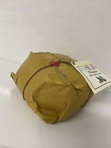 Italian Pecorino Cheese Matured In Walnut Leaves 1.4kg Not Manchego , Sheep Milk