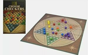 Luxury Traditional Chinese Checkers Game Fun for all the Family   Free Delivery