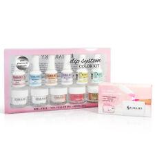 Kiara Sky Nail DIP Dipping Powder System Color Kit w/Recycle dip case