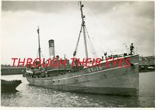 DVD SCANS OF PHOTO ALBUM GRIMSBY FISHING BOAT TRAWLER 'DRANGEY' & CREW 1938