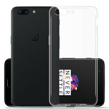 New Ultra Thin Clear Soft Silicone Gel TPU Case Cover Skin For OnePlus 5 5T Five