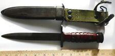 Original Dutch M1 Carbine Bayonet & Scabbard