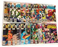 Doctor Strange Vol 2 lot Of 23 Marvel Comics #45-77 1980.