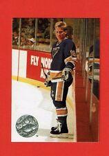 1991-92 Pro Set Platinum PC insert # PC5 Brett Hull St. Louis Blues