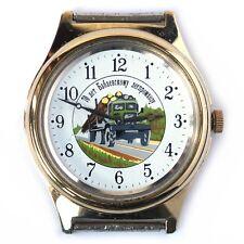 Vintage soviet watch CHAIKA Limited Edition. drug. logging truck. lorry. USSR