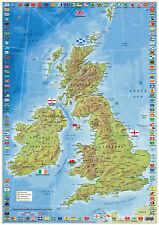 United kingdom and Ireland county Map