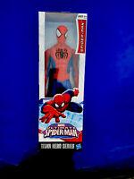 "Marvel Ultimate Spider Man Titan Hero Series 12"" Action Figure Hasbro NIB"
