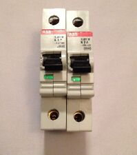 ABB S281W-K2A circuit breaker pair (2) max 254/440 made in Germany