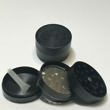 3 Piece Small Metal Dry Herbal Herb Spice Smoke Tobacco Grinder Chromium Crusher