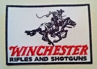 "Winchester Rifles & Shotguns~Embroidered Patch~3 7/8"" X 2 3/4""~Iron or Sew On"