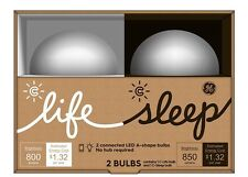 GE LIGHTING - C LIFE + C SLEEP - LIGHT BULB 2 PACK - BLUETOOTH WIRELESS