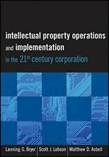 Intellectual Property Operations and Implementa, Bryer, Lebson, Asbell+=