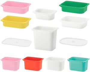 IKEA TROFAST Boxen Kisten Spielzeug Kiste Regal Aufbewahrung Kasten Deckel