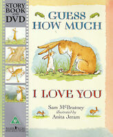 Guess How Much I Love You by Sam McBratney Book and DVD NEW