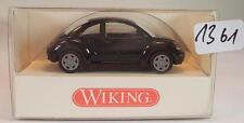 Wiking 1/87 n. 035 09 24 VW VOLKSWAGEN NEW BEETLE LIMOUSINE NERO OVP #1361