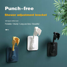 360° Adjustable Bathroom Shower Head Holder Wall Mounted Hand Shower Bracket
