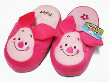 Piglet Pink Slippers Shoes #E Disney Winnie Pooh US Size 5-9, UK 3-7, EU 34-40