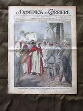 La Domenica del Corriere 23 Marzo 1913 Tripolitania Cavalleria francese Nave