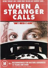 WHEN A STRANGER CALLS (Original) New but UNSEALED Region 0 (Plays on any Player!