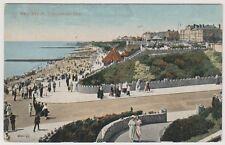 Essex postcard - West Beach, Clacton on Sea - P/U 1921
