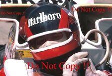 GILLES Villeneuve McLaren m23 di British Grand Prix 1977 fotografia 9