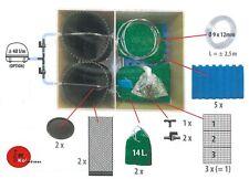 AquaForte Biokammer für ATF-1 Trommelfilter mit Biomedien / Füllpaket