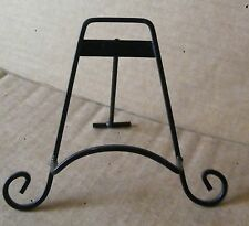 Metal Easel plate stand decorative plates display 6-8 in