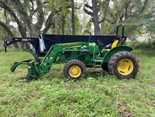 John Deere 5045 Tractor w/Flat Bed Trailer (Optional) And Grapple Attachment