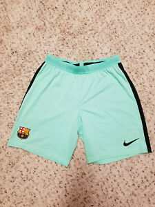 Authentic Nike 2016/17 FC Barcelona Player Issue Aeroswift Shorts, size L