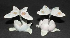 Butterfly Flower Decorative Ornament Home Garden Decor Butterflies Art (Set 2)