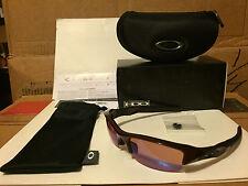 NEW Oakley Flak Jacket (AF) Sunglasses, Metallic Red / G30 Iridium, 03-883J