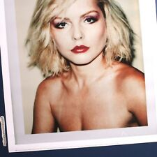 ANDY WARHOL DEBBIE HARRY BLONDIE 1980 UNCUT POLAROID POSTER WARHOL FOUNDATION