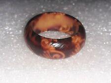 Geometric Round Square Big Finger Ring Boho Ethnic Women Hippie Ring Hollow Z3J3