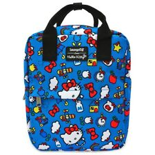 Loungefly Sanrio Hello Kitty 45th Anniversary Kawaii Mini Backpack Bag SANBK0354
