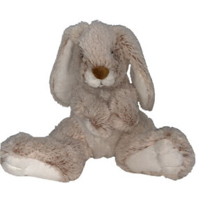 "Melissa and Doug 10"" Burrow Bunny Rabbit Big Feet Plush Stuffed Animal Soft Toy"