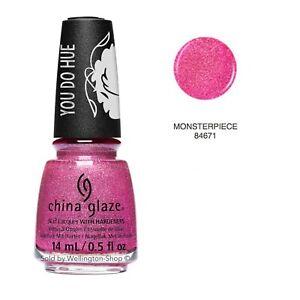 China Glaze Nail Lacquer Nail Polish You Do Hue  Sesame Street Collection 0.5 oz