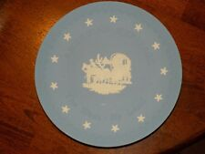 Vintage Wedgwood Jasperware America's Heritage The West - By Land Plate Last One