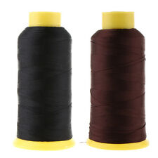 2 x Bonded Nylon Sewing Threads for Upholstery Outdoor Leather Craft Repair