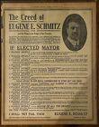 1919 Newspaper Page - San Francisco History - Eugene Schmitz Campaign Ad