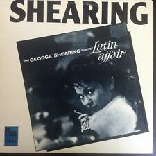 George Shearing Latin Affair 1986 Pausa Records NEAR MINT LATIN JAZZ  LP