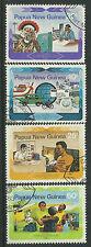 PAPUA NEW GUINEA 1983 WORLD COMMUNICATIONS YEAR 4v Fine Used